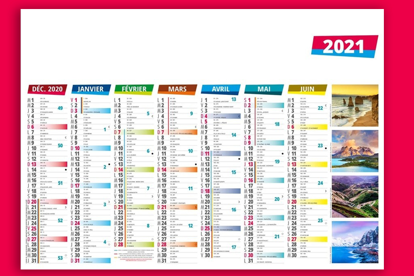 CALENDRIERS BANCAIRES